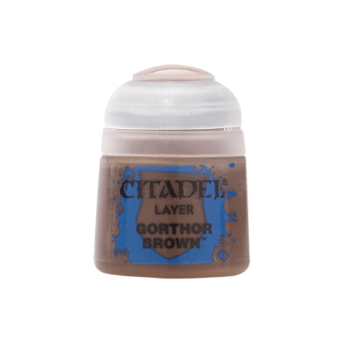 Gorthor Brown Layer (12ml) - Citadel Colour Paint-RedQueen.mx