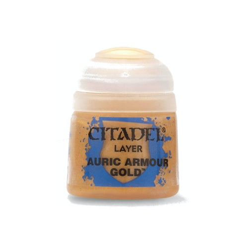 Citadel Colour Layer Paint: Auric Armour Gold (12ml)