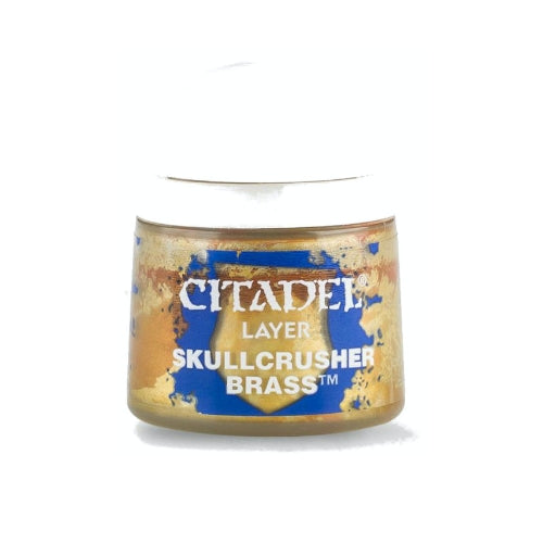 Skullcrusher Brass Layer (12ml) - Citadel Colour Paint-RedQueen.mx