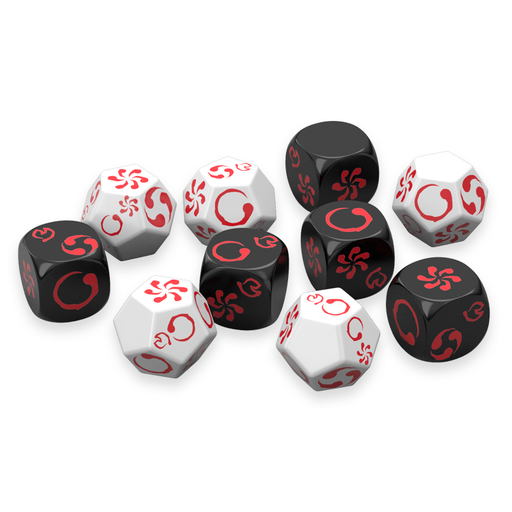 Legend of the Five Rings RPG: Roleplaying Dice-RedQueen.mx