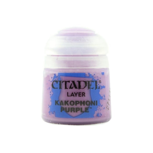 Kakophoni Purple Layer (12ml) - Citadel Colour Paint-RedQueen.mx