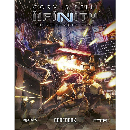 Infinity RPG: Core Book (EN)-RedQueen.mx