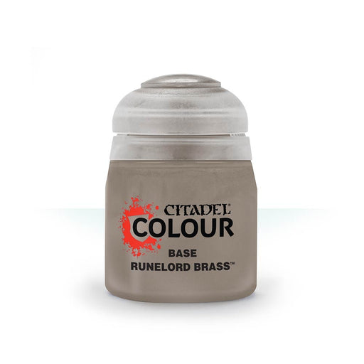 Runelord Brass Base (12ml) - Citadel Colour Paint-RedQueen.mx