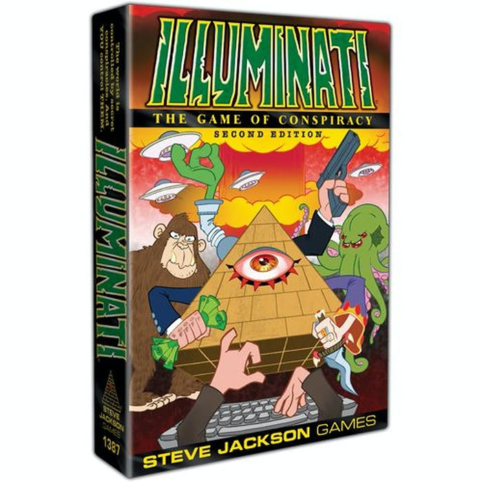Illuminati: The Game of Conspiracy - 2nd Edition (EN)-RedQueen.mx