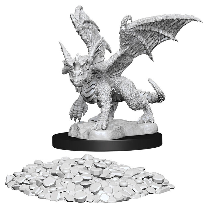 Blue Dragon Wyrmling (1) - D&D Miniatures-RedQueen.mx
