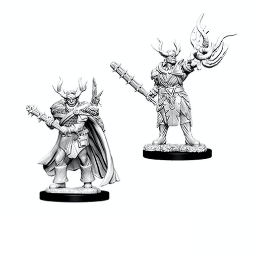 Half-Orc Male Druid (2) - Pathfinder Battles MiniatureS-RedQueen.mx