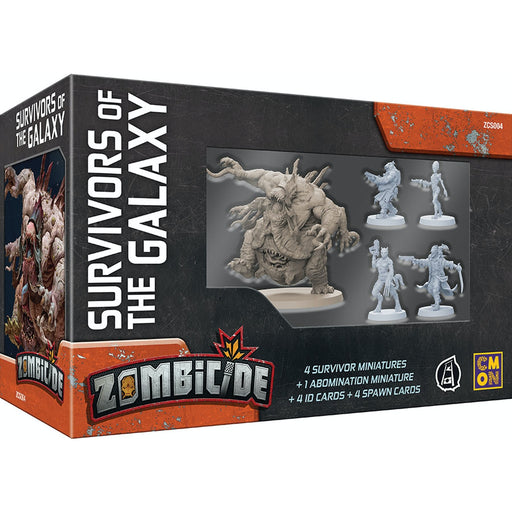 Zombicide Invader: Survivors of the Galaxy-RedQueen.mx