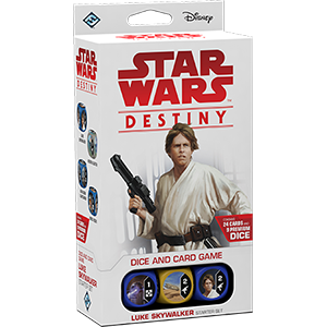 Luke Skywalker - Destiny Starter Set - SW Destiny LCG