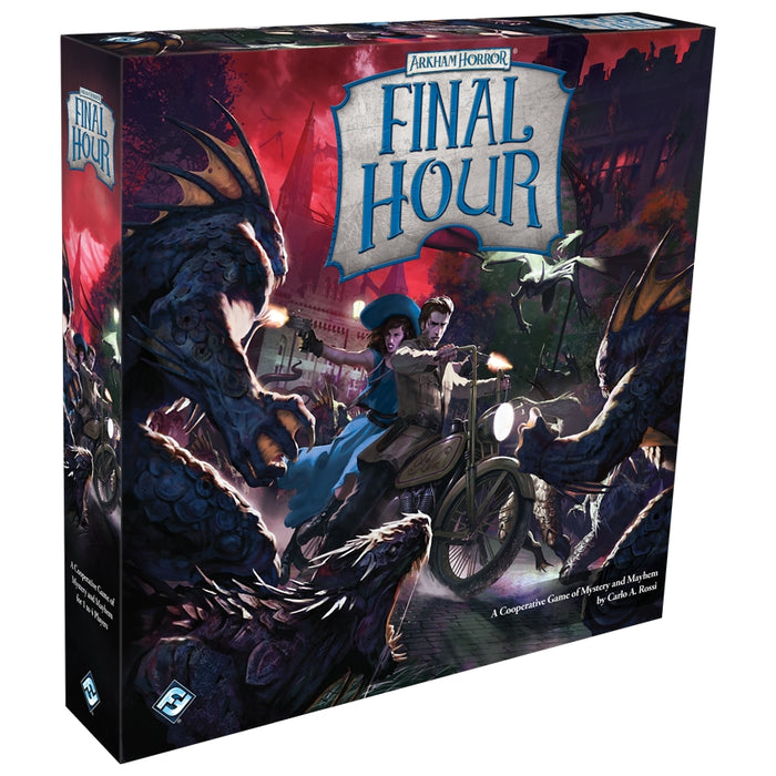 Arkham Horror: Final Hour (EN)-RedQueen.mx