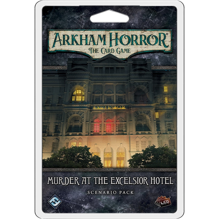 Arkham Horror LCG: Murder at the Excelsior Hotel Scenario Pack (EN)-RedQueen.mx