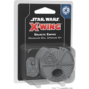 Galactic Empire Maneuver Dial - X-Wing 2E Upgrade Kit-RedQueen.mx
