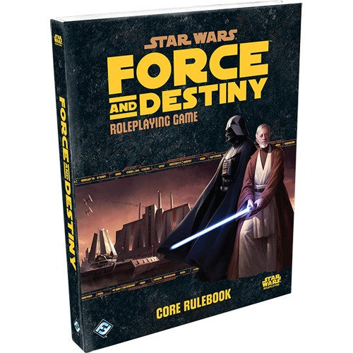 Star Wars: Force and Destiny RPG - Core Rulebook-RedQueen.mx