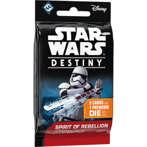Spirit of Rebellion - Destiny Booster Pack - SW Destiny LCG