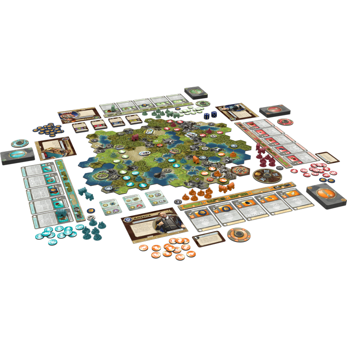 Sid Meier's Civilization: A New Dawn - FFG Civilization