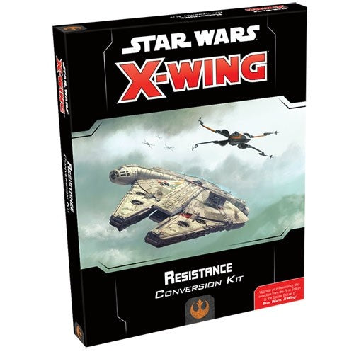 Resistance Conversion Kit - X-Wing 2E Expansion-RedQueen.mx