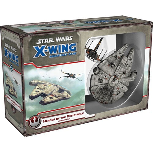 Heroes of the Resistance - X-Wing Expansion-RedQueen.mx