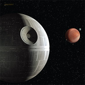Death Star Assault - X-Wing and Armada Game Mat - FFG Playmat