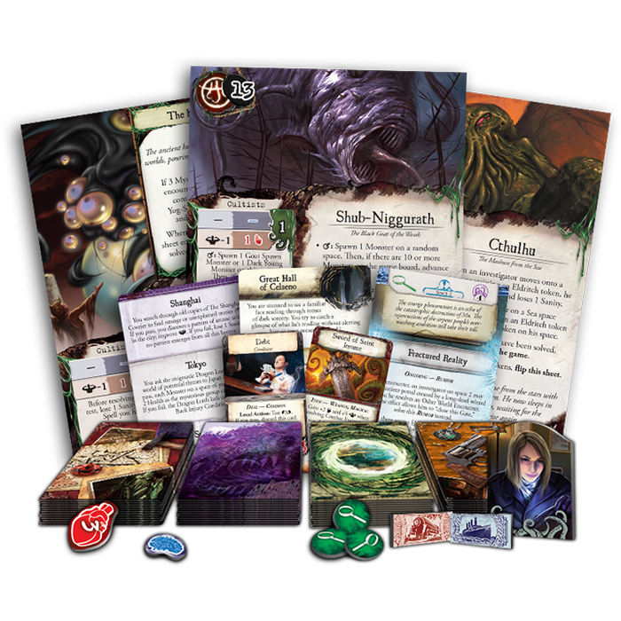 Eldritch Horror (EN)-RedQueen.mx