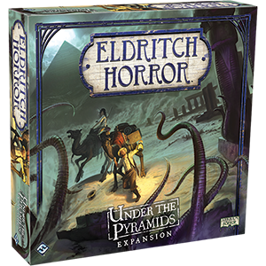 Eldritch Horror: Under the Pyramids Expansion - redqueen-mx