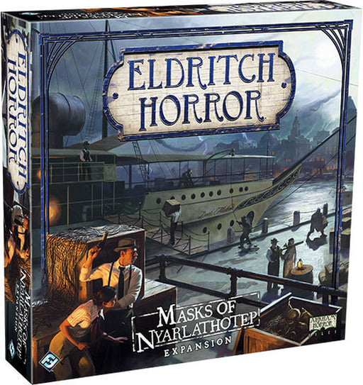 Masks of Nyarlathotep Expansion - Eldritch Horror (EN)-RedQueen.mx