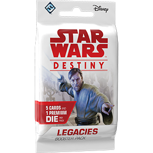 Legacies - Destiny Booster Pack - SW Destiny LCG