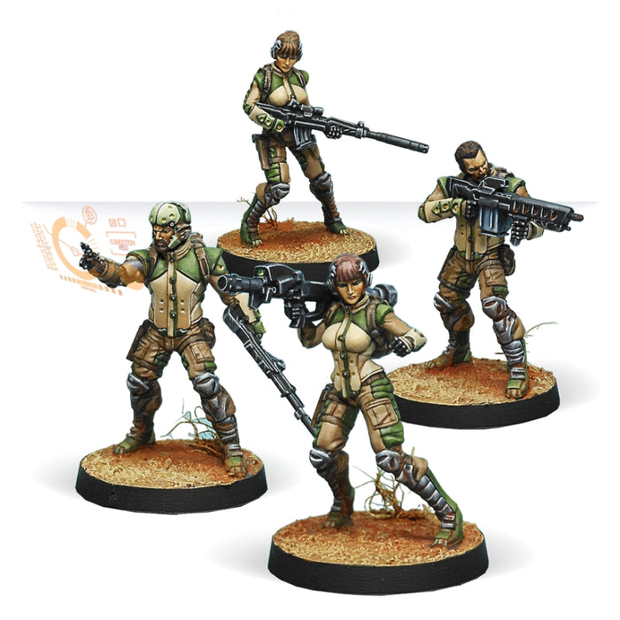 Ghulam Infantry - Infinity: Haqqislam Pack-RedQueen.mx