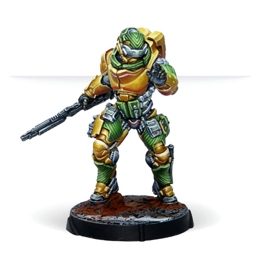 Infinity: Yu Jing - Haidào Special Support Group (Hacker)