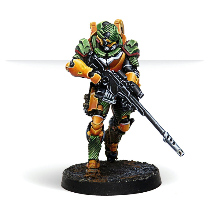 Hâidào Special Support Group (Multi Sniper Rifle) - Infinity: Yu Jing Pack-RedQueen.mx