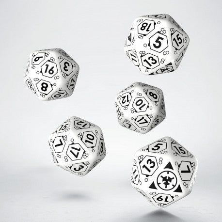 ALEPH D20 Dice Set (5) - Infinity Accessories-RedQueen.mx