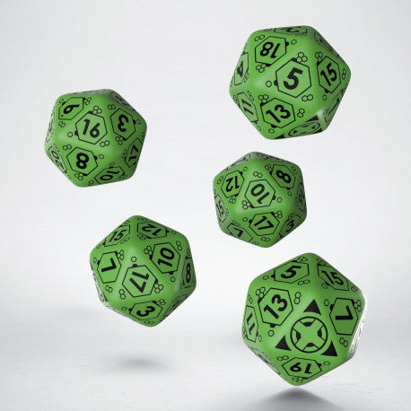 Ariadna D20 Dice Set (5) - Infinity Accessories-RedQueen.mx