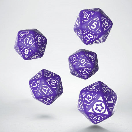 Combined Army D20 Dice Set (5) - Infinity: Accessories-RedQueen.mx