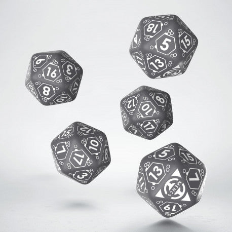 Mercenaries D20 Dice Set (5) - Infinity Accessories-RedQueen.mx