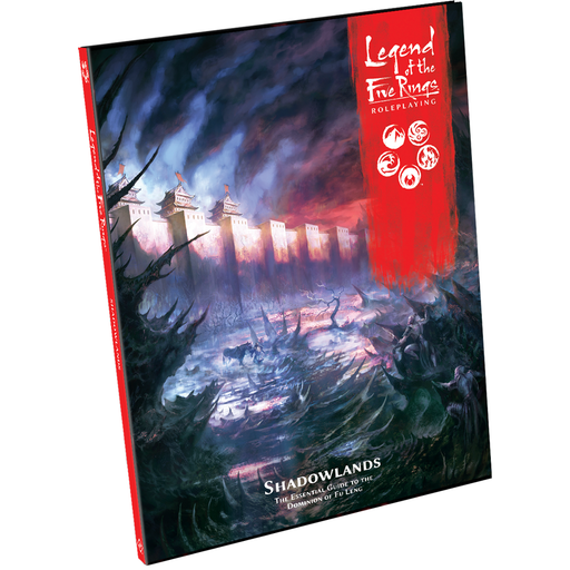 Legend of the Five Rings RPG: Shadowlands - Sourcebook-RedQueen.mx