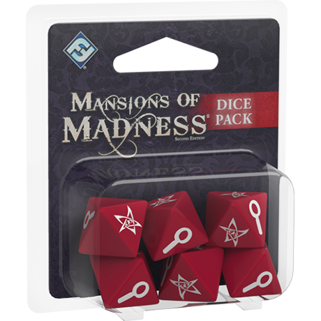 Dice Pack - Mansions of Madness 2E-RedQueen.mx