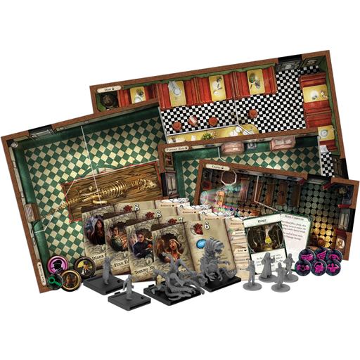 Mansions of Madness 2e: Streets of Arkham Expansion - FFG Mansions
