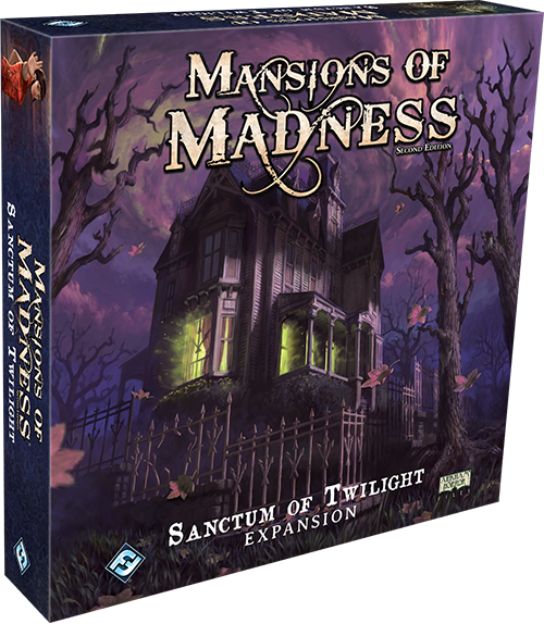 Mansions of Madness 2e: Sanctum of Twilight Expansion - FFG Mansions