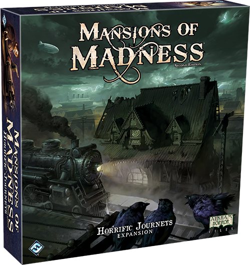 Mansions of Madness 2e: Horrific Journeys Expansion - FFG Mansions