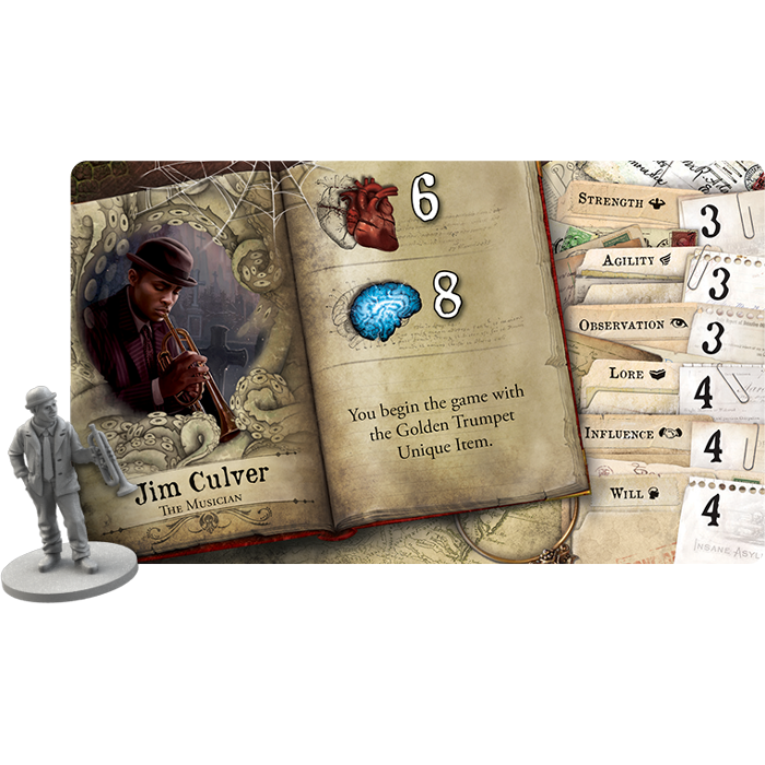 Horrific Journeys Expansion - Mansions of Madness 2E (EN)-RedQueen.mx