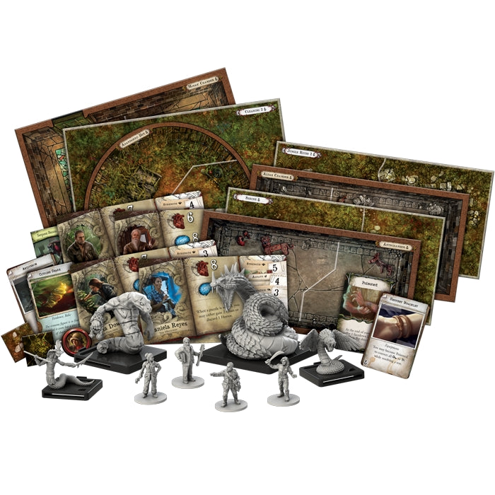 Path of the Serpent Expansion - Mansions of Madness 2E (EN)-RedQueen.mx