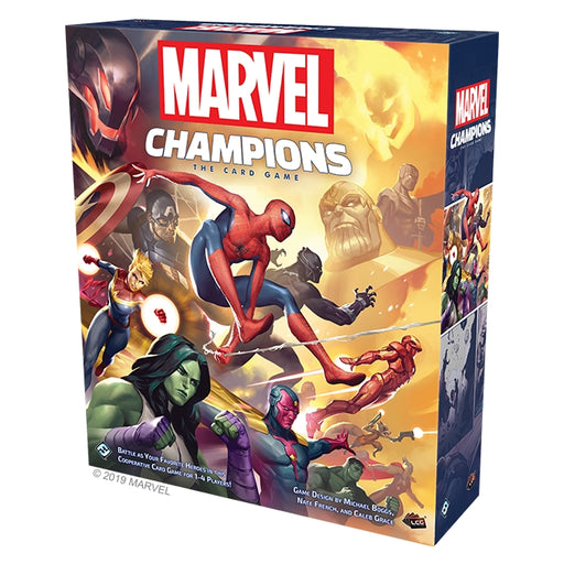 Marvel Champions LCG: The Card Game (EN)-RedQueen.mx