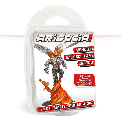 Mendoza 'Sacred Flame of God' Skin - Aristeia! Pack-RedQueen.mx