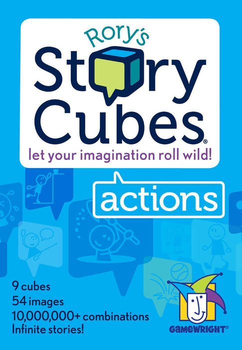 Rory's Story Cubes: Actions (Box)-RedQueen.mx