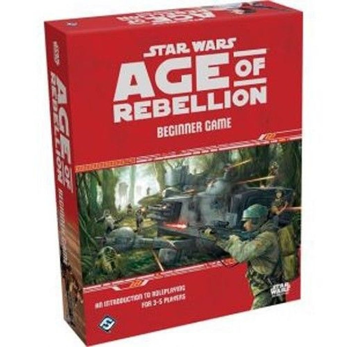 Star Wars RPG: Age of Rebellion - Beginner Game-RedQueen.mx