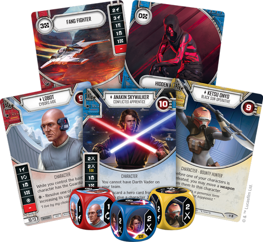 Rivals - Destiny Draft Set - SW Destiny LCG
