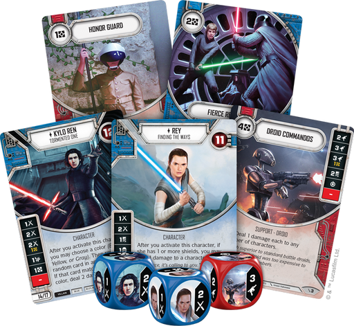 Star Wars: Destiny Two-Player Game - redqueen-mx