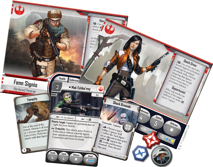 Imperial Assault - Core Set-RedQueen.mx