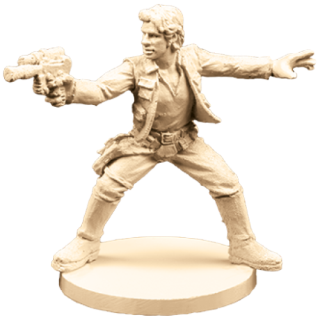 Han Solo - Imperial Assault Pack-RedQueen.mx