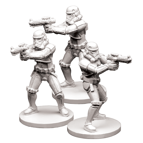 Stormtroopers - Imperial Assault Pack-RedQueen.mx