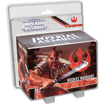 Wookiee Warriors - Imperial Assault Pack-RedQueen.mx