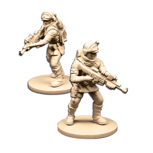 Echo Base Troopers - Imperial Assault Pack-RedQueen.mx